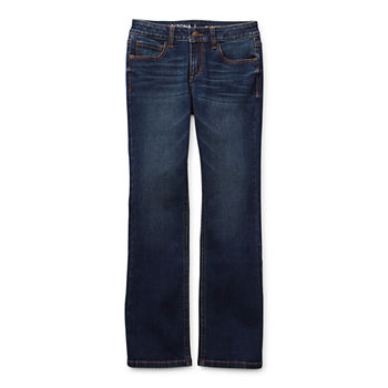 Arizona Little & Big Girls Bootcut Regular Fit Jean