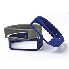 Nuband Mens 3-pr. Interchangeable Silicone Watch Bands