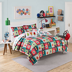 Waverly Robotic Reversible Comforter Set