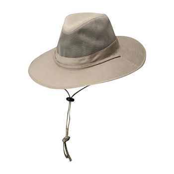 Dorfman Mens Safari Hat