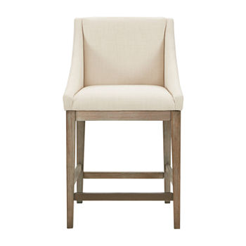Groovy Madison Park Reed Counter Height Upholstered Bar Stool Camellatalisay Diy Chair Ideas Camellatalisaycom