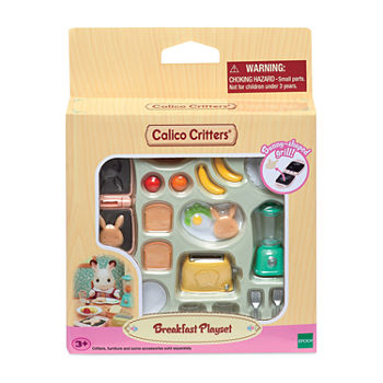 Calico Critters Breakfast Playset Toy Playset - Unisex