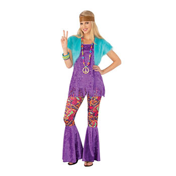 Groovy Girl Adult Womens Costume Womens Costume