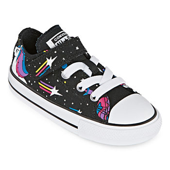 29928d98286ff Converse Chuck Taylor All Star Party Dress Girls Sneakers Lace-up. Add To  Cart. New. Black Mod Pink