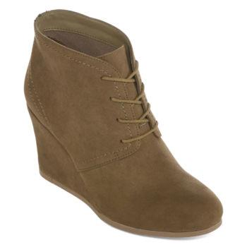 Call it SpringCRORIA - Cowboy/Biker boots - khaki