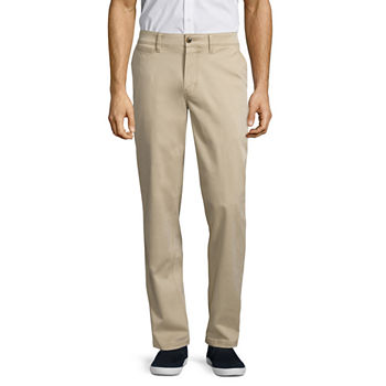St John's Bay Men's Comfort Stretch Power Chino Pant