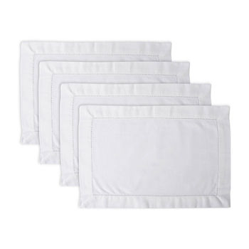 Design Imports Hemstitch 4-pc. Placemat