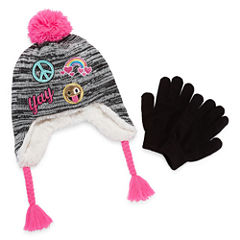 Capelli of N.Y. Pattern Cold Weather Set-Big Kid Girls