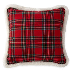 North Pole Trading Co. Tartan Plaid Throw Pillow