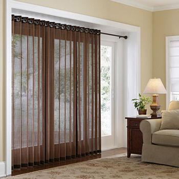Bamboo Vertical Blinds Door Curtains