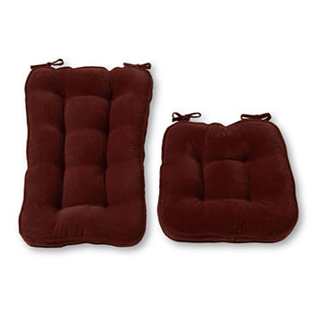 Swell Greendale Home Fashions Jumbo Hyatt Rocking Chair Cushion Set Gamerscity Chair Design For Home Gamerscityorg