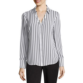 9de78c3282441d Worthington White Tops for Women - JCPenney
