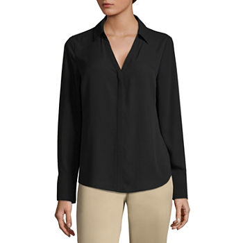 28f11725ec16fe Georgette Tops for Women - JCPenney