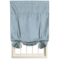 United Curtain Co. Anna Rod-Pocket Tie-Up Curtain Panel