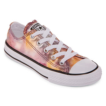 ed1d59e6a24 Converse Chuck Taylor All Star Metallic Girls Sneakers - Little Kids
