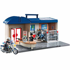 Playmobil Take Along Police Station