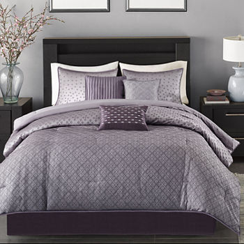 Purple Comforters Bedding Sets For Bed Bath Jcpenney