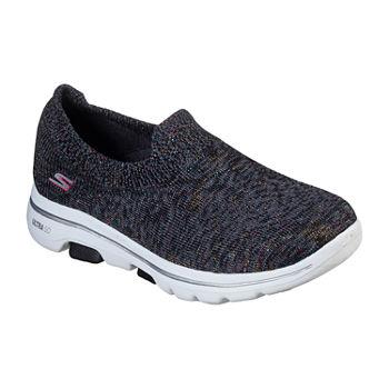Skechers Go Walk 5 Sparkling Womens Slip on Walking Shoes