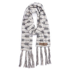 Muk Luks Oblong Pattern Cold Weather Scarf