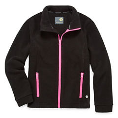 Xersion Lightweight Fleece Jacket-Big Kid Girls