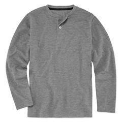 Arizona Long Sleeve Pajama Top - Boys 4-20 & Husky