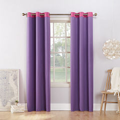 Sun Zero Campus Blackout Grommet-Top Curtain Panel