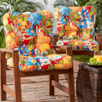 Floral Patio Chair Cushions Chair Cushions For The Home Jcpenney