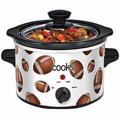 Cooks Football 1.5 Quart Slow Cooker