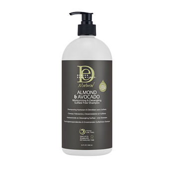 Design Essentials Natural Almond & Avocado Moisturizing and Detangling Sulfate Free Shampoo - 32 oz.