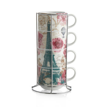 Lovely Stackable Mugs + Teacups Glassware & Mugs For The Home - JCPenney BL74