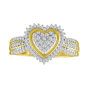 5260e01317a Heart Rings All Fine Jewelry for Jewelry   Watches - JCPenney
