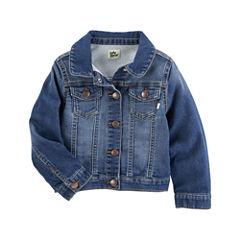 Oshkosh Girls Denim Jacket-Baby