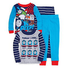 Thomas the Train 4 PC Pajama Set - Toddler Boys