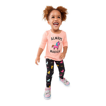 5cc1d1f673147 Toddler Girl Clothing | Shop Little Girls 2t-5t Clothes - JCPenney