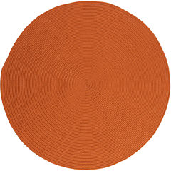 Colonial Mills® Nantucket Reversible Braided Indoor/Outdoor Round Rug