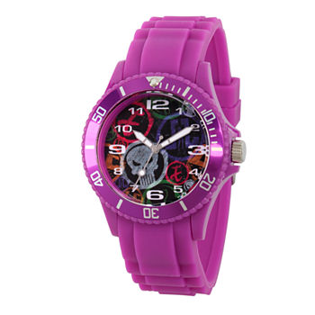 Marvel Classic Marvel Mens Purple Strap Watch-Wma000067