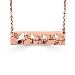 Womens Multi Color Multi Stone 14K Gold Pendant Necklace