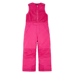 Vertical 9 Heavyweight Snow Bibs-Toddler Girls