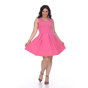 Plus Size Pink Dresses For Women Jcpenney