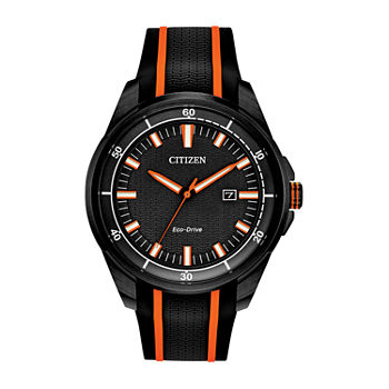 Drive from Citizen Mens Black Strap Watch-Aw1608-01e