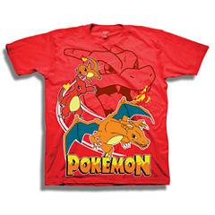 Short Sleeve Pokemon T-Shirt-Preschool Boys