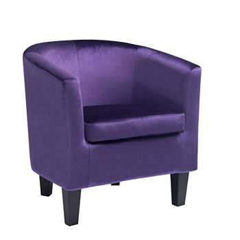 Magnificent Accent Chairs Purple Under 15 For Labor Day Sale Jcpenney Machost Co Dining Chair Design Ideas Machostcouk