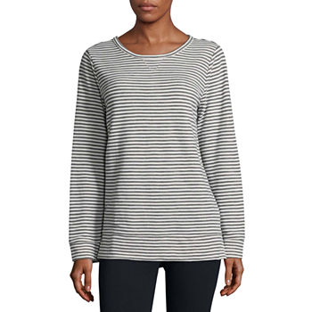 d0b1c714 CLEARANCE Sweatshirts Tops for Women - JCPenney