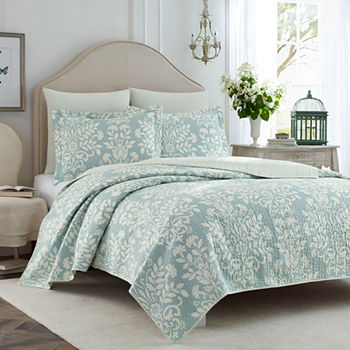 Laura Ashley King Quilts Bedspreads For Bed Bath Jcpenney