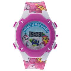 Hatchimals Girls Multicolor Strap Watch-Hatkd16008