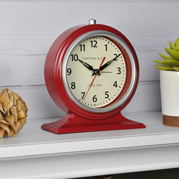 Table Clocks Shop Jcpenney Save Amp Enjoy Free Shipping