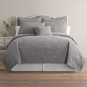 Gray Comforters & Bedding Sets for Bed & Bath - JCPenney : grey quilted comforter - Adamdwight.com