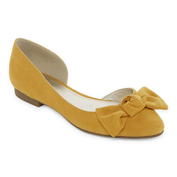 5589b45c1c0 Yellow Women s Flats   Loafers for Shoes - JCPenney