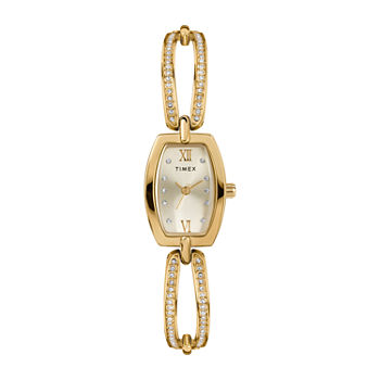 Timex Womens Gold Tone Bracelet Watch - Tw2t58300ji