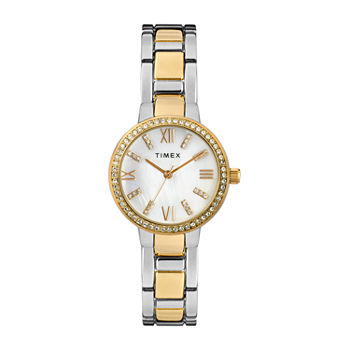 Timex Womens Two Tone Bracelet Watch - Tw2t58800ji